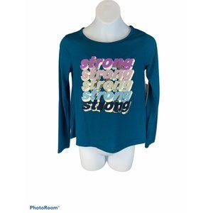 Girl's Old Navy active top size M
